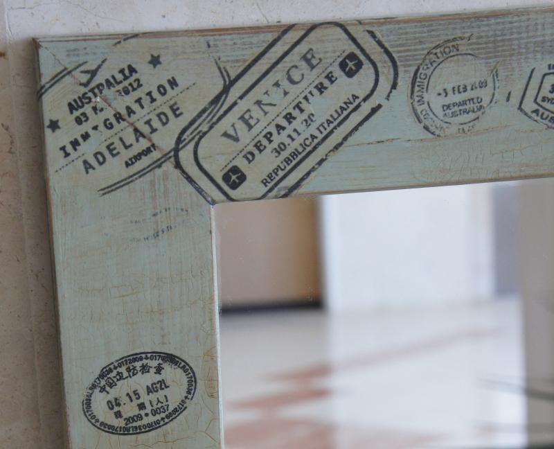 מסגרת חותמות דרכון